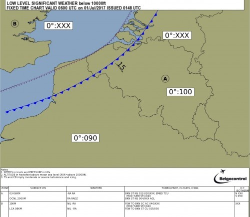 Low Level SIGWX Belgium